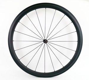 Image 2 - 700C 38mm depth road bike carbon wheels 25mm width clincher/Tubular bicycle Ultra light carbon wheelset UD matte finish
