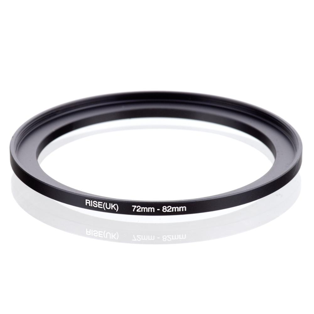RISE(UK) 72mm-82mm 72-82 Mm 72 To 82 Step Up Filter Ring Adapter