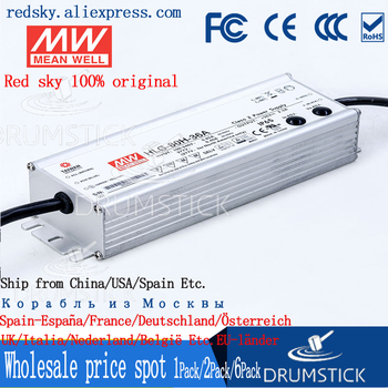 (Only 11.11)MEAN WELL HLG-80H-36A (2Pcs) 36V 2.3A meanwell HLG-80H 36V 82.8W Single Output LED Driver Power Supply A type