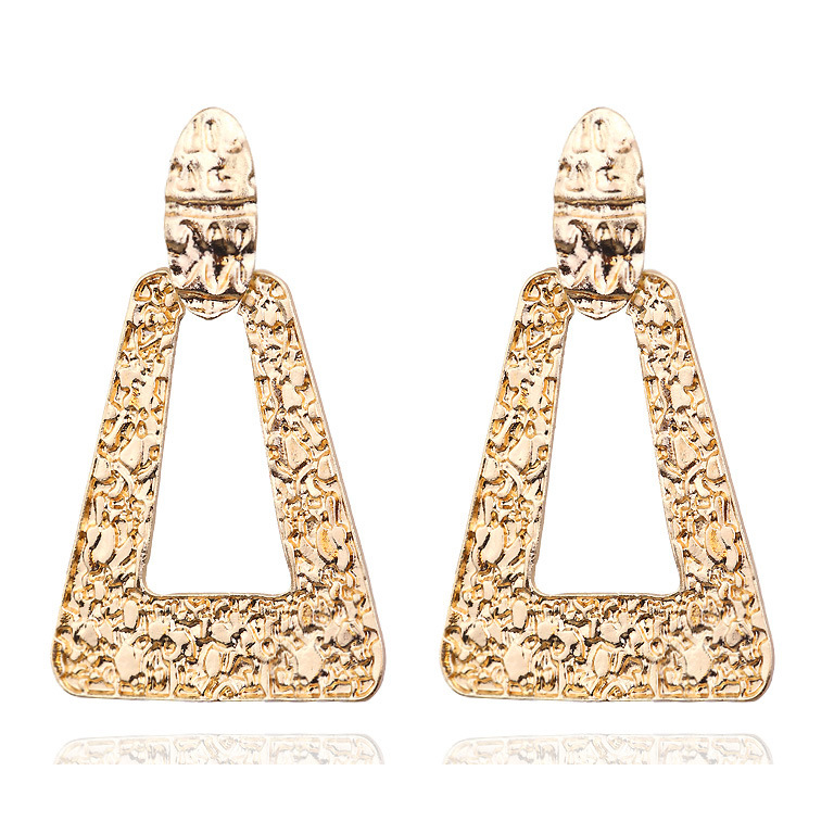 Mostyle 30 стилей модные большие винтажные золотые серебряные розовые золотые геометрические массивные металлические Висячие серьги для женщин - Окраска металла: 62945