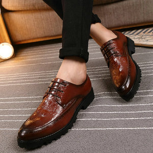 Luxury Brand Men Oxfords Shoes