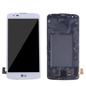Image 2 - חדש 5.0 LCD עבור LG K8 LTE K350N K350E K350DS LCD תצוגה עם מסך מגע Digitizer עצרת