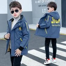 Boys Jackets Coats Outfit Outerwear Windbreaker Teenage Fleece Girls Kids Winter Children
