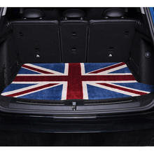 Car Trunk Mats Interior Accessories luggage compartment Floor Pad For BMW MINI Cooper F55 F56 F60 R60 accessories interior