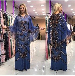Image 4 - فساتين أفريقية للنساء ملابس أفريقيا مسلم فستان طويل طول موضة فستان أفريقي لسيدة