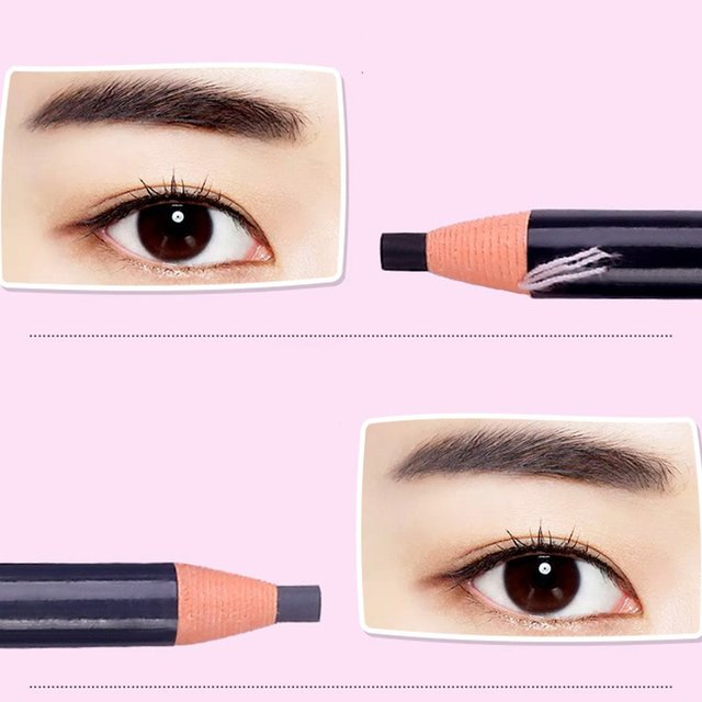 5 colors Eyebrow Pencil With Tearing Thread Long-lasting Natural Brow Pencil Cosmetics Brow Eye Liner Make Up Tool 1