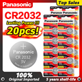 PANASONIC 2020 Förderung 20pcs Hohe Qualität 3 V Cr2032 Lithium-Pilas Münze Zellen 2032 Uhr Uhr Batterien DL2032 ECR2032 5004LC