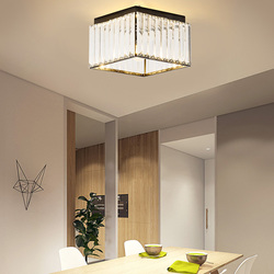Twórczy led światło balkonowe kryształowy sufit lampa korytarz światła do przejścia nowoczesne minimalistyczne oświetlenie wejściowe WF107348