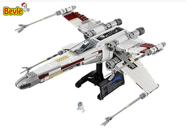 In Stock 05039 1586Pcs Star Wars Street Red Five X-wing Model Building Blocks Bricks Kids Toys Christmas Gift 10240