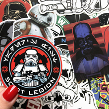 25 Kinds Star War Waterproof Fuel Cap Creative Sticker For Skateboard On Notebook Laptop Luggage Phone Styling Home Toy Sticker