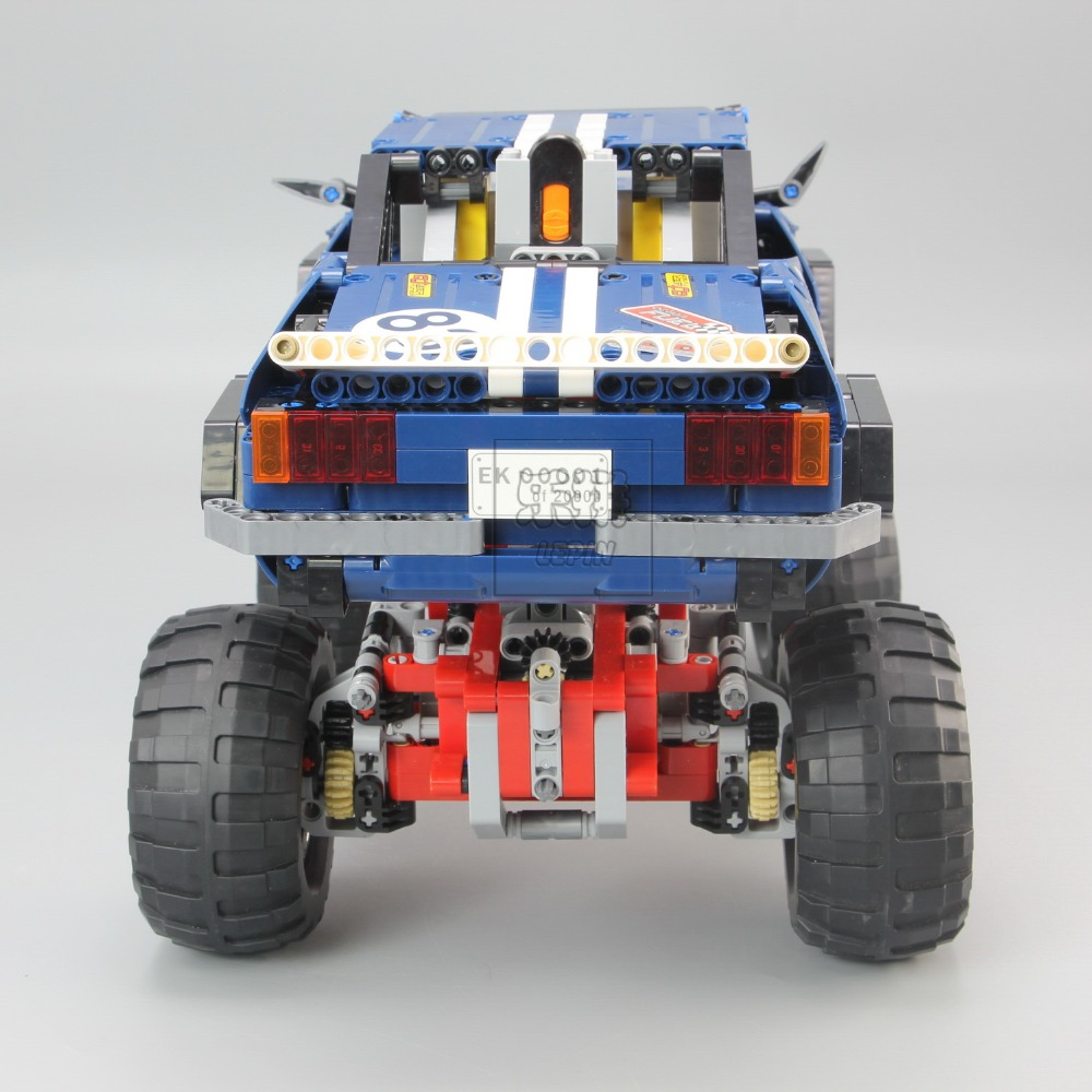 20011 Technic series Motor Power 4x4 Crawler Assembly Car Set Model Kit Building Blocks Bricks Compatible With legoing 41999 TOY 15