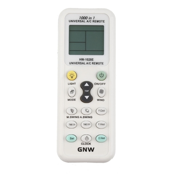 Universal LCD A/C Muli Remote Control RC 433 mhz Frequency for Air Condition Conditioner Simple Operation HW-1028E image
