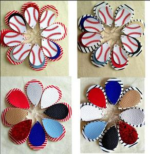 Image 3 - 30 คู่คริสต์มาสของขวัญBohoสไตล์PUหนังGlitter Sparklyต่างหูรูปไข่ต่างหูแฟชั่นสำหรับผู้หญิง