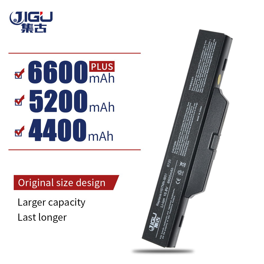 JIGU Laptop Battery 6720s/CT /CT 500764-001 HSTNN-LB51 For <font><b>HP</b></font>/Compaq 510 511 610 Business Notebook 6720s 6730S 6735S <font><b>6820S</b></font> 6830S image