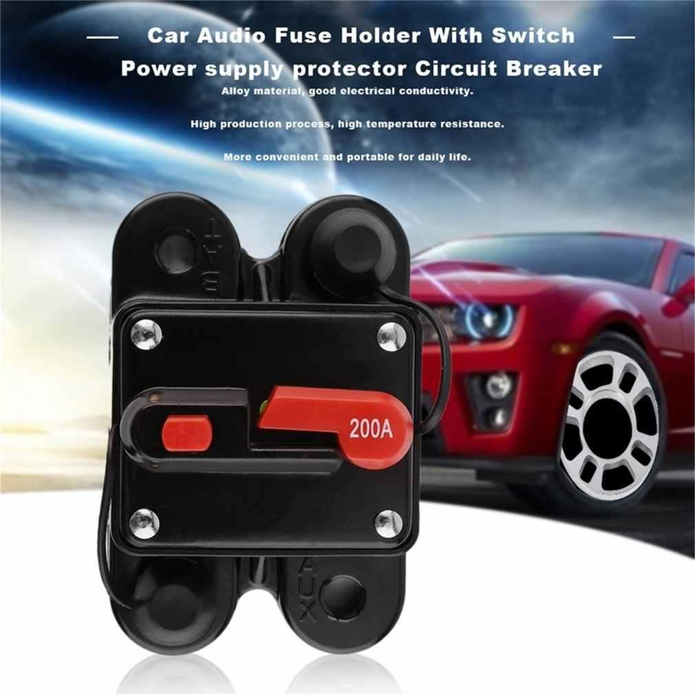 50A 60A 80A 100A 125A 150A 200A 250A optional Auto Audio Inline Circuit Breaker Sicherung für 12V Schutz SKCB-01-100A heißer verkauf.