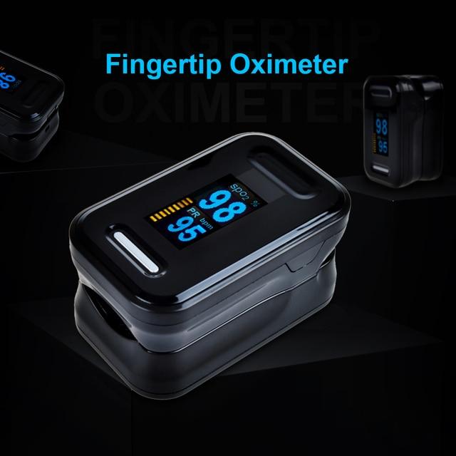 New!! Finger Pulse Oximeter Fingertip Oximetro de pulso de dedo LED Pulse Oximeters Saturator Pulsioximetro