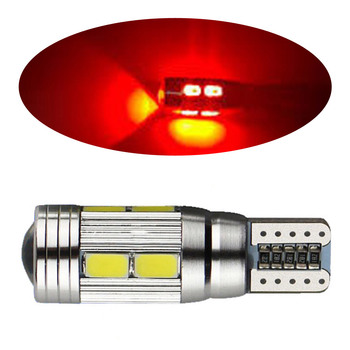 1pc Low Power Canbus 10 SMD 5630 LED Car Light Bulbs T10 W5w Super Bright rear Lamps Up to 50,000 hours image