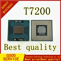 2 шт. T7200 7200 SL9SF CPU 4M Socket 479 (кэш/2 0 ГГц/667/двухъядерный) ноутбук процессор