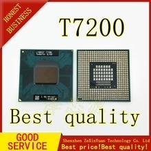 2PCS T7200 7200 SL9SF CPU 4M 소켓 479 (캐시/2.0GHz/667/듀얼 코어) 노트북 프로세서
