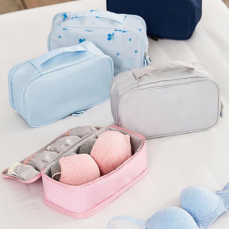 Дорожная упаковка органайзер для хранения нижнего белья, бюстгальтеров сумка Аксессуары для нижнего белья, несессер, органайзер, Сумки из