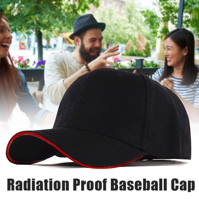 Unisex EMF Radiation Protection Baseball Cap Rfid Shielding Electromagnetic Hat TT@88