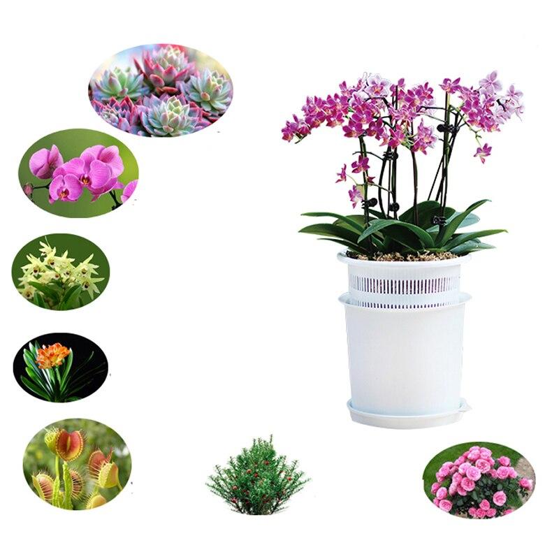 4 шт/5 шт/лот сетка 5 дюймов пластиковый горшок орхидеи с отверстиями