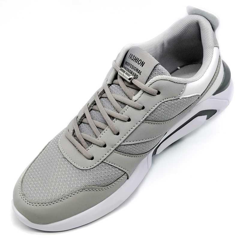 SOBU yeni elastik ayakabı Metal kapsül düğme hiçbir kravat ayakkabı bağcıkları