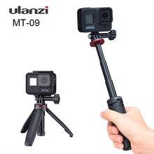Ulanzi MT 09ขยายขาตั้งกล้องขาตั้งกล้องขนาดเล็กพร้อมExtension Pole RodสำหรับGopro Hero9 8 7 6 5 Black Session osmoกล้อง