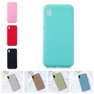 Чехол для Xiaomi Redmi 7A, мягкий силиконовый цветной чехол для телефона Xiomi Redmi 7A 7 A A7, чехлы для задней панели телефона Redmi 7A, чехол