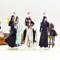 Liebe danke Mo Dao Zu Shi Live-Action Chen Qing Ling Wei WuXian Lan WangJi 3 stile acryl stehen abbildung modell platte halter