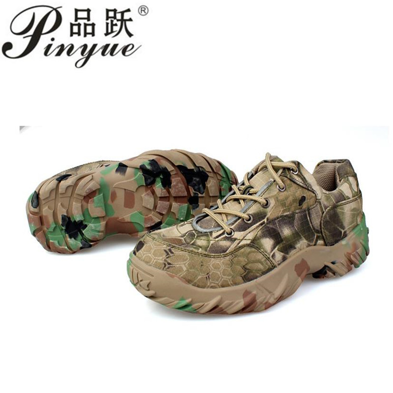 Men Military Tactical Boots Autumn Winter  Leather Army Boots Desert Safty Work Shoes Combat Ankle shoes