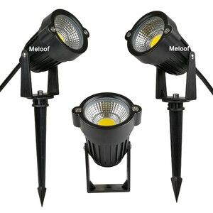 New Style COB Garden Lawn Lamp Light 220V 110V 12V Outdoor LED Spike Light 3W 5W Path Landscape Waterproof Spot Bulbs(China)