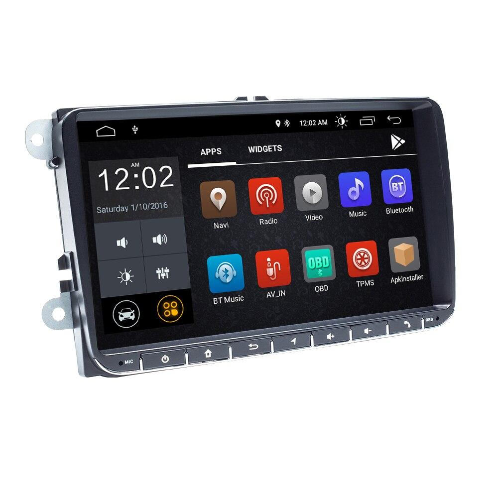 2 Din Android 9 Auto Radio Gps Navigatie Voor Vw Passat B6 Amarok Volkswagen Skoda Octavia 2 Superb Jetta T5 golf 5 6 Multimedia - 3