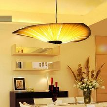 Chinese Style Wooden Lamps Veneer Bamboo Living Room Pendant Lights Restaurant Lamp Dining Room Lights pendant lights(China)