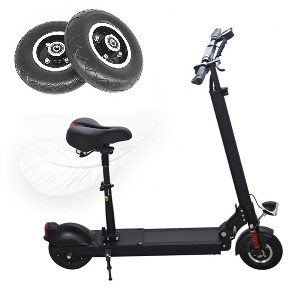 High Quality 200x50 Electric Scooter Solid Wheel No Air 8 Inch Scooter Wheel With Solid Tire