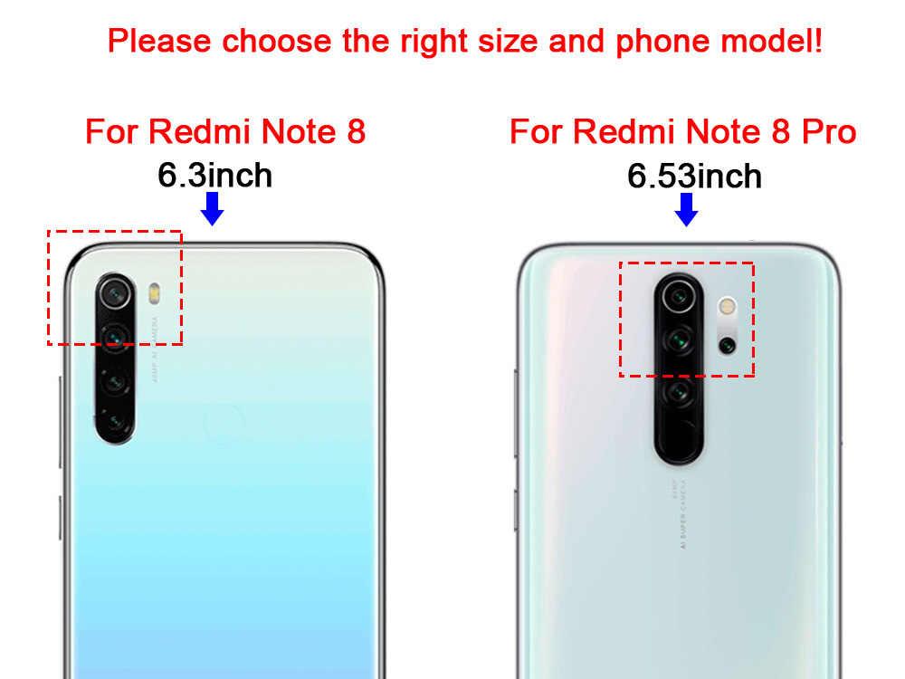 Redmi not 8 Pro tampon Xiaomi Redmi için Note8 Pro telefon Redmi 8A 8 durumda silikon TPU arka kapak üzerinde Redmi not 8 T 8 T Coque