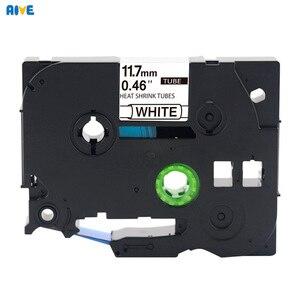 Aive HSE-231compatible brother HSe термоусадочная трубчатая лента Этикетка картриджа принтер черный на белом Hse-211 HSe-621 Hse-241