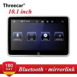 1024x600 9 ''Ultra Dünne TFT LCD Kopfstütze DVD Monitore HD video eingang Radio AV Monitor für auto audio Android DVD Player Hinten Cam
