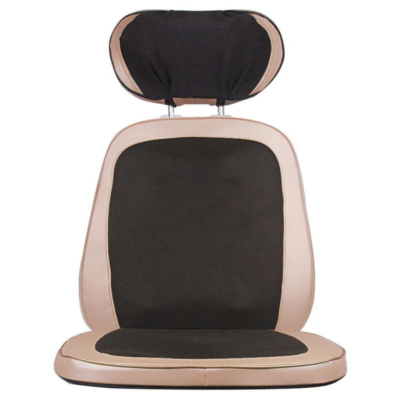 Massage Cushion Cervical Vertebra Multifunctional Waist Back Body Heating Manipulator 5D Ankle Open Back