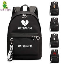 XXXTentacion Bookbag College School Bags sac a dos Backpack Laptop Backpacking Backpacks Travel Shoulder Bag for Girl Teenager недорго, оригинальная цена