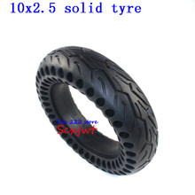 10 Inch Electric Skateboard Tire Solid Tyre 10x2.5 for Electric scooter Skate Board 10x2.25 10x2.50 Non inflatable Tyre