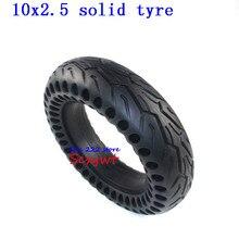 Neumático de monopatín eléctrico de 10 pulgadas, neumático sólido de 10x2,5 para patinete eléctrico, no inflable, 10x2,25, 10x2,50