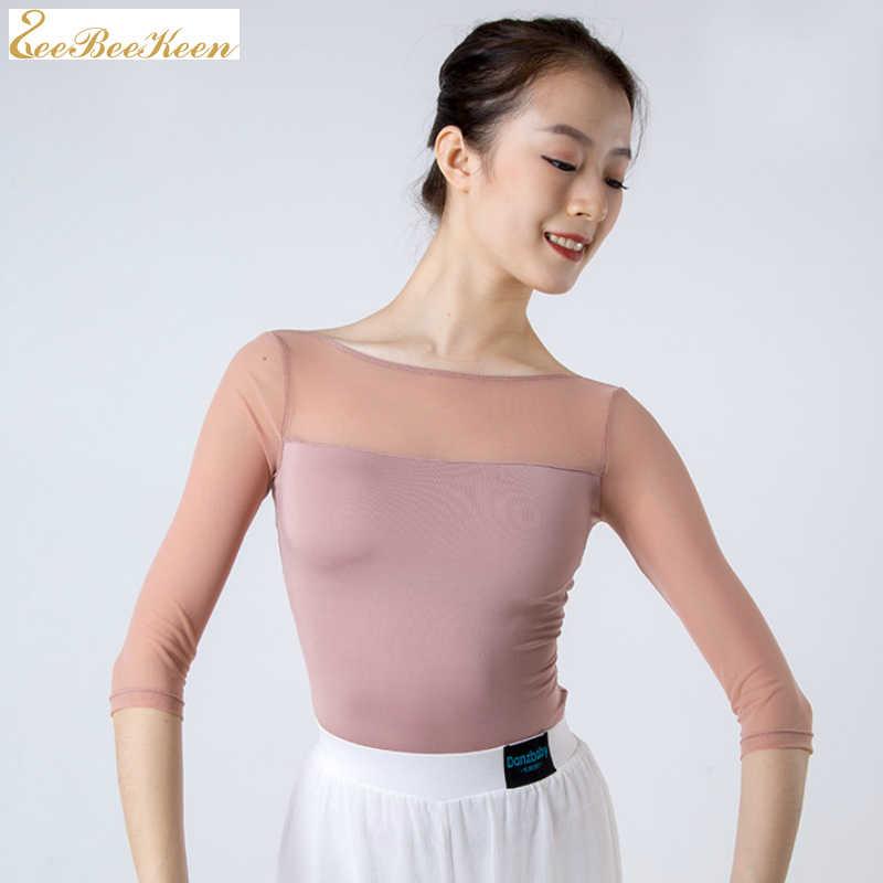 ผู้ใหญ่ Ballerina คลาสสิกเต้นรำหญิงเต้นรำยิมนาสติกเครื่องแต่งกายเต้นรำแห่งชาติ Top บัลเล่ต์เต้นรำสวมใส่ผู้หญิง