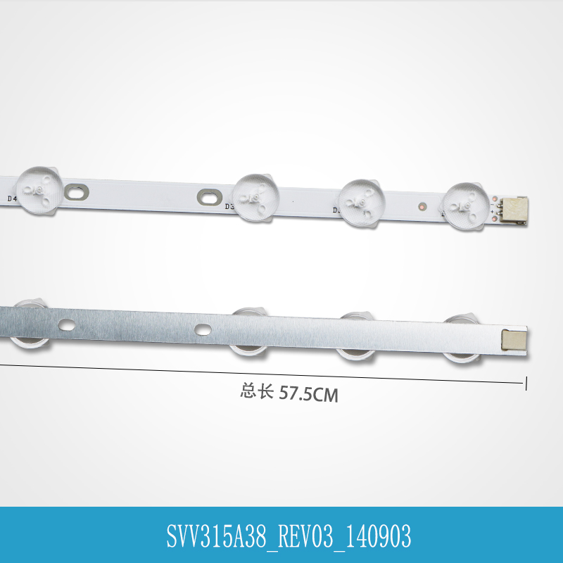 (New Original) 2 PCS 11LED 575mm LED Strip For VESTEL 32D1333DB LED TV LG INNOTEK 32