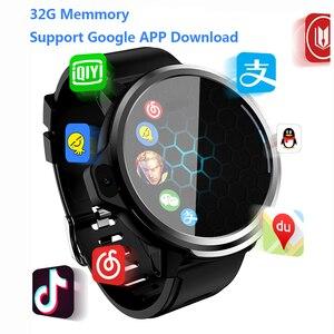 Intelligente Della Vigilanza Degli Uomini di 4G GPS WIFI 1.6 Pollici Viso di Riconoscimento ID 800mah Batteria Google APP Download Doppia fotocamera telefono Smartwatch PK X361
