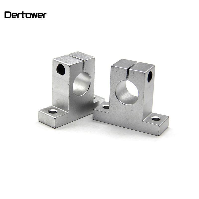 Hot 1pc SK8 SK10 SK12 SK16 SK20 SK25  8mm Linear Ball Bearing Rail Shaft Side Blocks Support Table CNC 3D Printer Part