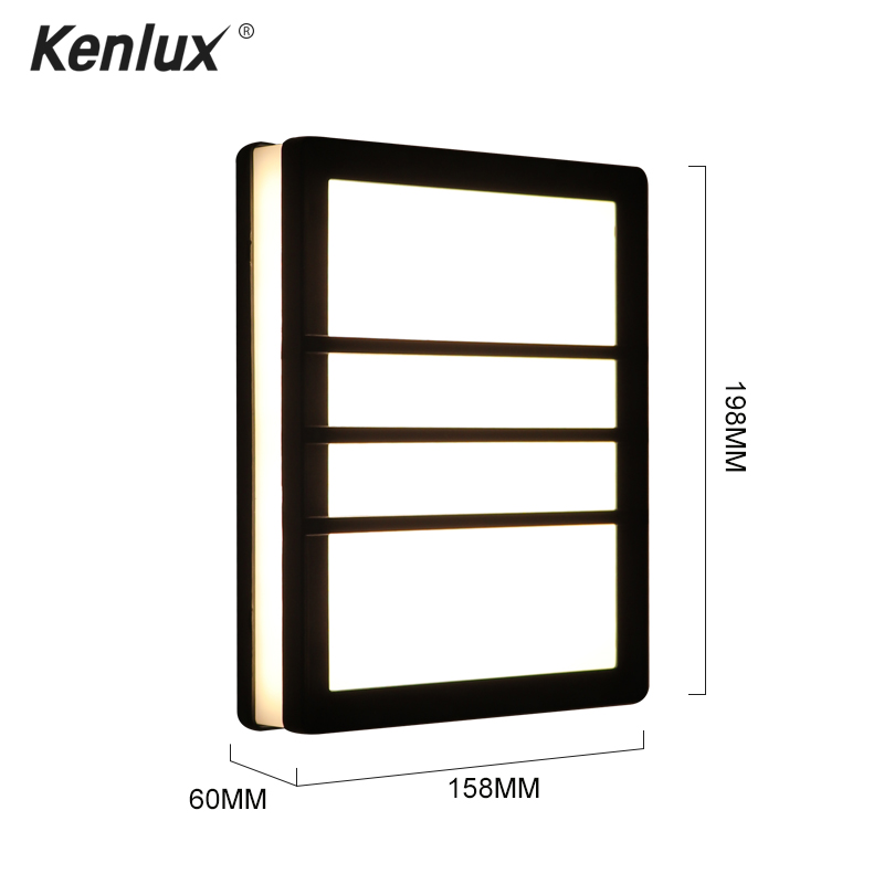 cheapest Modern Waterproof outdoor 12W LED wall lamp IP65 Aluminum UP and Down Wall Light Garden porch Sconce Decoration Light 110V 220V