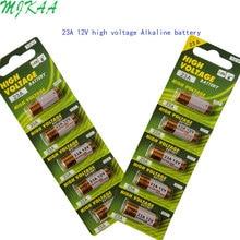 MJKAA 2Card 23AE A23S E23A EL12 3LR50 V23GA MN21 L1028 MS21 RV08 VR22 GP23A 21/23 K23A Alkaline Dry 23a 12v Battery 5x wama 23a 12v alarm remote dry alkaline battery 21 23 23ga a23 a 23 gp23a rv08 lrv08 e23a v23ga mn21 vr22 ms21 23ae