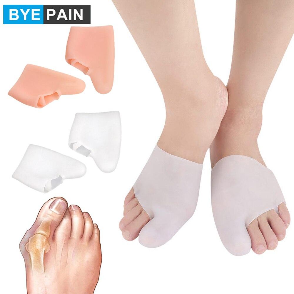 1 пара Для мужчин Для женщин Для мужчин Спорт Защита разделители для пальцев ног, вам поможет-корректор для большого пальца уход унисекс исп...
