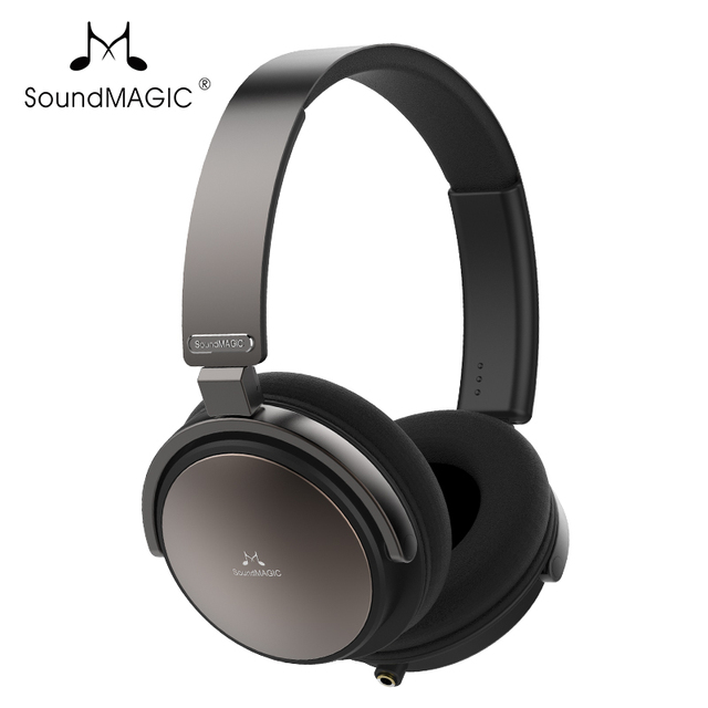 SoundMAGIC Vento P55 Headphones On-Ear Closed Back Headset Powerful Bass HiFi Stereo Earphones with Microphone